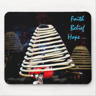 Faith ,Belief , Love ! Mouse Pad