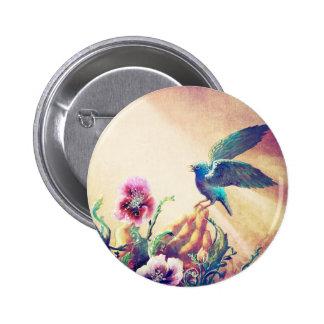 Faith Bird Button