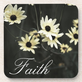 Faith - Black Eyed Susans Flowers Drink Coasters