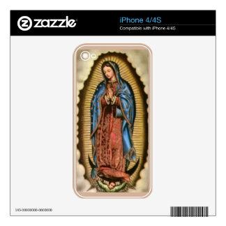 Faith, Bless Virgin Mary Skin For iPhone 4S