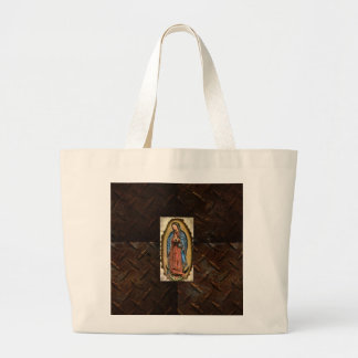 Faith, Blessed Virgin Mary Large Tote Bag