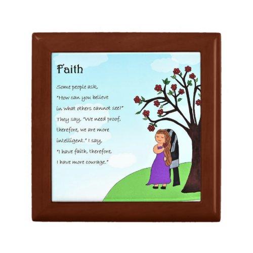Faith Blessing Box