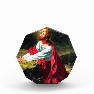 faith blessing inspirational hope Jesus sandstone Acrylic Award