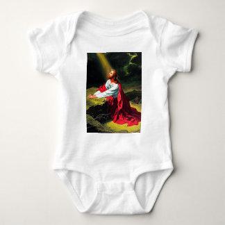 faith blessing inspirational hope Jesus sandstone Infant Creeper