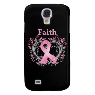 Faith Breast Cancer Awareness Ribbon Samsung Galaxy S4 Cover