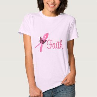 Faith Breast Cancer Awareness Tee Shirt