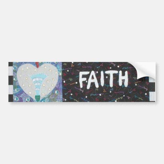 Faith Bumper Sticker