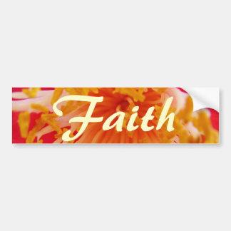 Faith Car Bumper Sticker