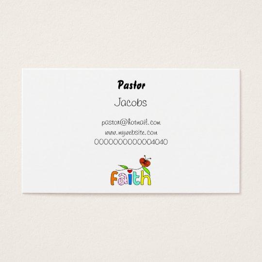 Faith, Business Card