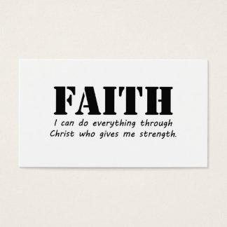 Faith Business Card