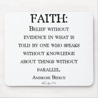 Faith by Ambrose Bierce Mousepads