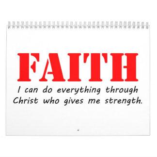 Faith Calendar