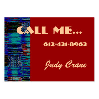 Faith Calling Card Large Business Cards (Pack Of 100)