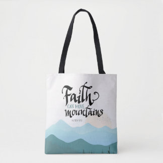 Faith Can Move Mountains All Over Print Bag