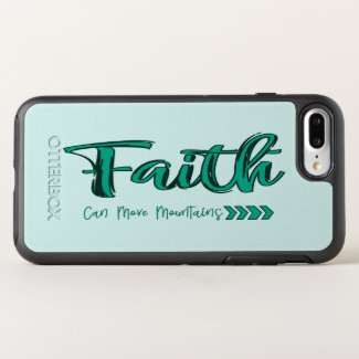 Faith Can Move Mountains OtterBox Symmetry iPhone 8 Plus/7 Plus Case