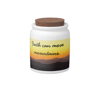 Faith Candy Jars