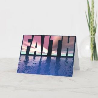 Faith Card card