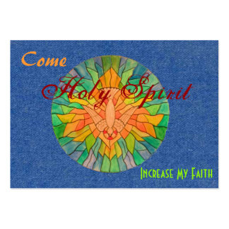 Faith Card Large Business Cards (Pack Of 100)