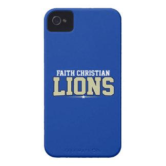 Faith Christian High School; Lions Case-Mate iPhone 4 Case