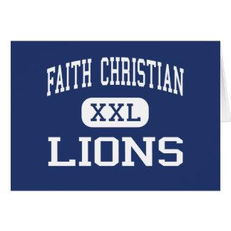 Faith Christian Lions Middle Little Rock Card