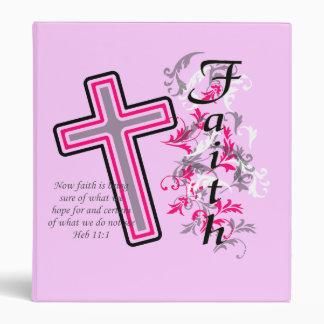 Faith Christian with Cross Binder