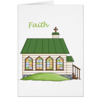 Faith Church Card