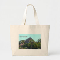 Faith Church Large Tote Bag