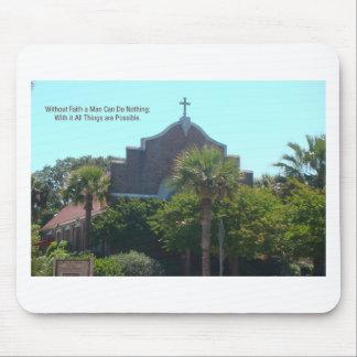 Faith Church Mouse Pad