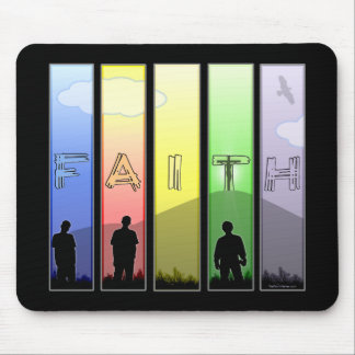 Faith Cross Mousepad