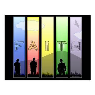 Faith Cross Postcard