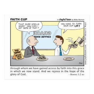 Faith Cup postcard