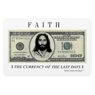 FAITH CURRENCY MAGNET