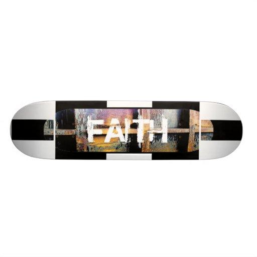 Faith Custom Skate Board