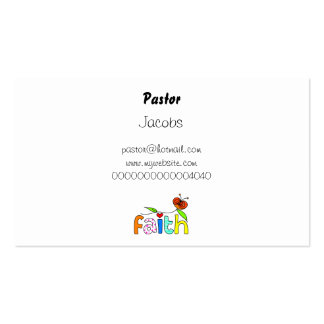 Faith, Double-Sided Standard Business Cards (Pack Of 100)