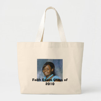 Faith Evans Class of 2010 Large Tote Bag