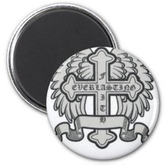 Faith Everlasting Gear Fridge Magnet
