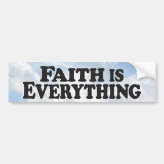 Faith Everything - Bumper Sticker