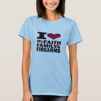 Faith, Family & Firearms T-Shirt