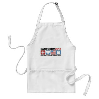 Faith, Family, Freedom and Sweater Vests Adult Apron
