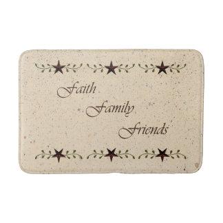Faith Family Friends Bath Mat