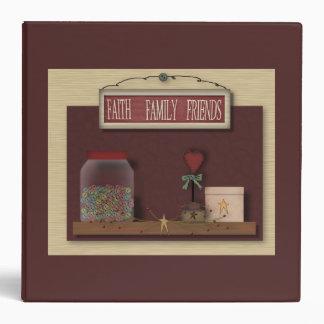 Faith Family Friends Binder