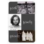 faith family friends parody magnet