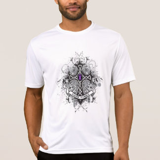 Faith Family Prayer Cross - Leiomyosarcoma Shirt