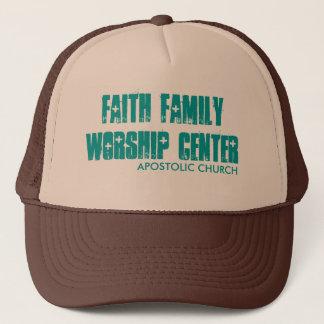 FAITH FAMILY WORSHIP CENTER, APOSTOLIC CHURCH TRUCKER HAT