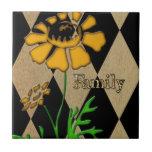 Faith,FamilyandFriends Ceramic Tiles