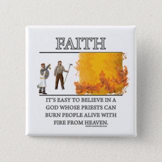 Faith Fantasy (de)Motivator Pinback Button