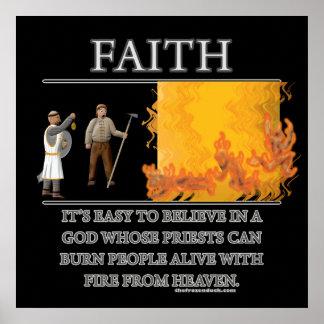 Faith Fantasy (de)Motivator Print