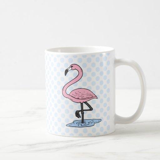 Faith Flamingo Classic White Coffee Mug