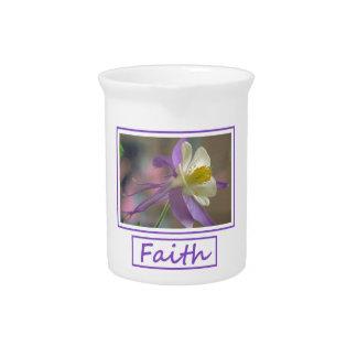 Faith Flowers Pitcher