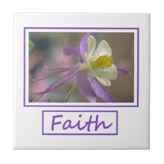 Faith Flowers Tile